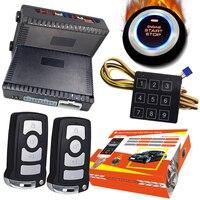 Cardot 2020 12 v entrada keyless passiva do alarme de carro sistema de parada partida remoto do motor|start stop car|system security|system alarm -