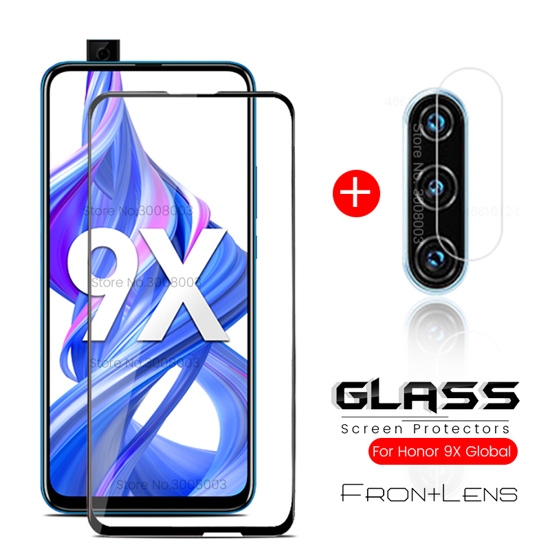 Honor9x Glass For Honor 9x Premium Camera Protective Glass For Honor 9x 9x Global Version Stk-lx1 6.59'' Phone Screen Film Cover