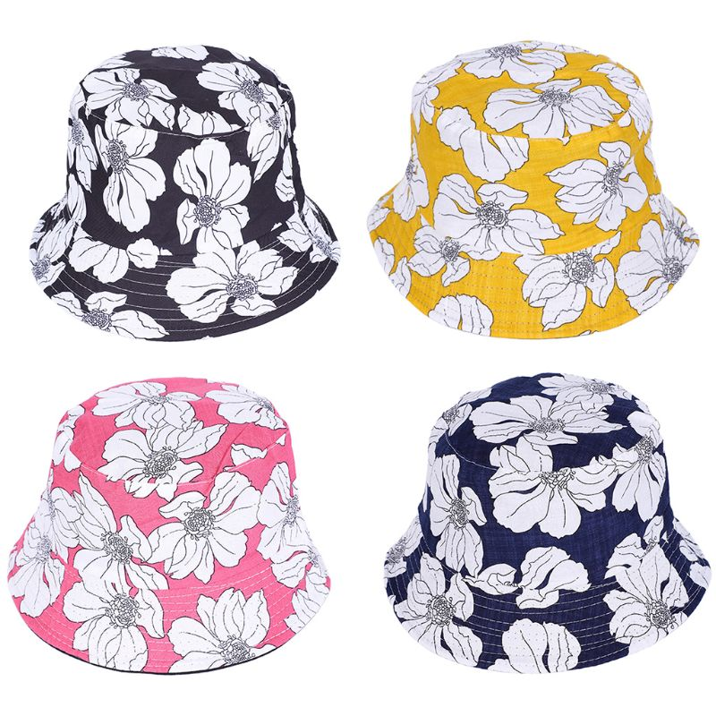 Cute Bucket Hat for Women Cool Print Sun Hats in Hot Weather Packable Reversable Dinosaur
