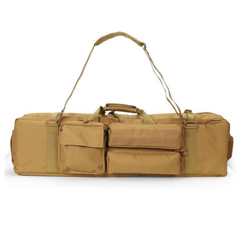 Sac de chasse tactique en Nylon sac de Protection pour pistolet à fusil à chargement Large sac à bandoulière M249 sac de fusil Airsoft