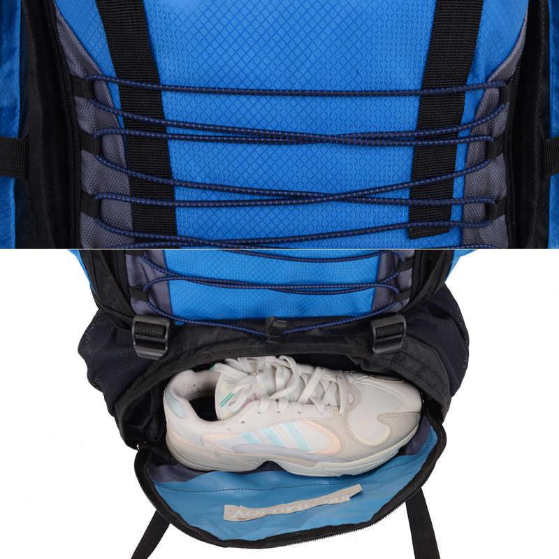 90L plecaki armia torba turystyczna Trekking podróż alpinista plecak 90L torba sportowa o dużej pojemności terenowa torba wspinaczkowa