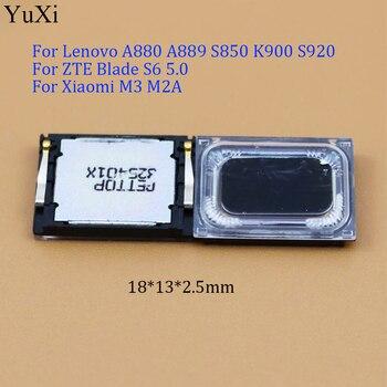 YuXi Universal Loud Speaker buzzer  For Lenovo A880 A889 S850 K900 S920/ for ZTE Blade S6 5.0/ For Xiaomi M3 M2A 18*13*2.5 mm lenovo 900 lenovo k900
