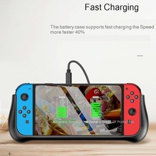 10000mAh For Nintendo Switch Battery Charge Case Battery Case for Switch Power Bank External Charging Battery Case for Switch все цены