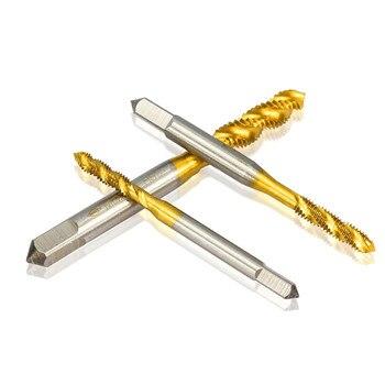 Sekrup Baja Titanium Keran Dilapisi Benang Metral Spiral M2 / M2.5 / M3 / M3.5 / M4 / M5 / M6 3