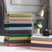 Cotton Bedding Sheet Home textile Printing Solid Color Flat Sheets Bed Sheet Bedding Linen for King Queen Size fitted bed sheet