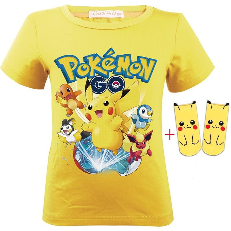 Pokemon Pikachu Girl/'s Short Sleeved Dress