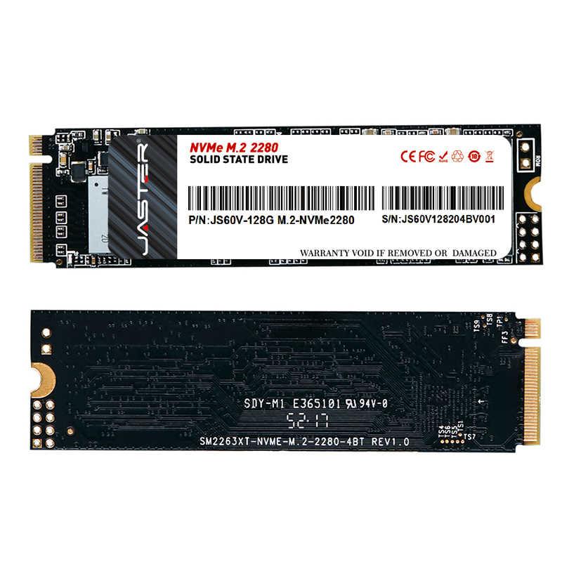 M.2 JASTER M.2 Ssd NVME PCIe 128 Gb 256 512 1TBไดรฟ์Solid Stateภายใน 2280 สำหรับแล็ปท็อปเดสก์ท็อป