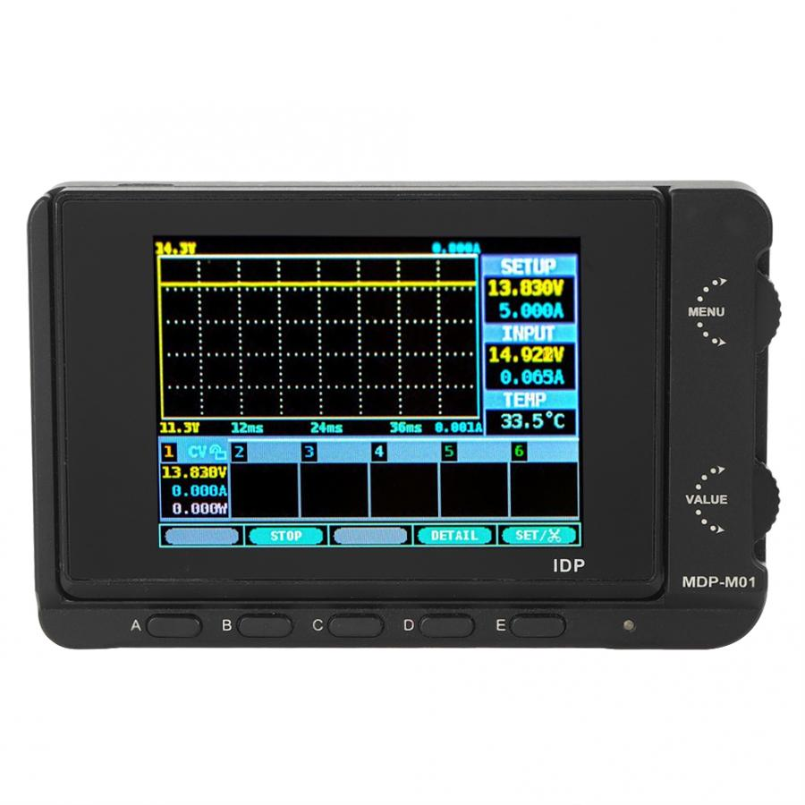 Programmable Linear Power Supply with TFT Screen for Real-Time Display of Voltage/Current Waveform