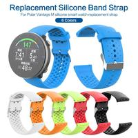 2020 6 Colors Watch Strap For Polar Vantage M Band Sports Silicone Strap Watch band Bracelet Replacement Water Proof Strap TXTB1