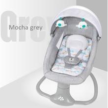 Chaise à bascule électrique pour nouveau-né, berceau de couchage confortable pour bébé de 0 à 3 ans