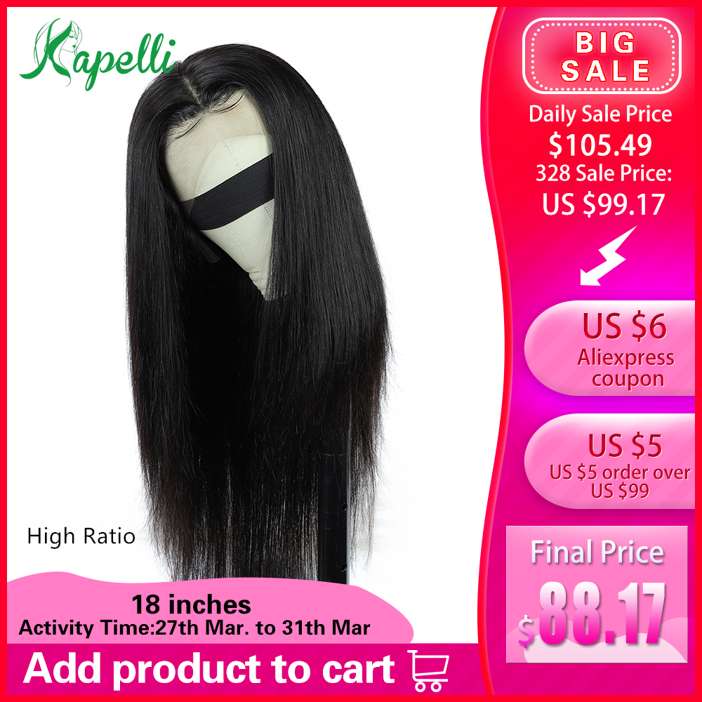 360 Lace Frontal Wig Pre Plucked With Baby Hair Straight Lace Human Hair Wigs For Black Women Remy Brazilian Wig Natural 150%