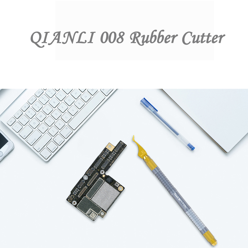 Купить с кэшбэком QIANLI 008 Rubber Cutter Hand Grinding Pry Knife for CPU IC Chip Motherboard Maintenance Disassemble Rubber tool