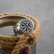Винтажные кольца викингов из нержавеющей стали для мотоцикла