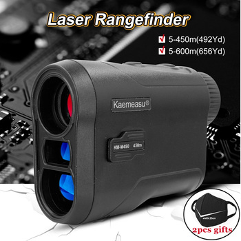 Telescope Laser Rangefinder KM-M450/KM-M600 Multifunctional 6X Magnification High Precision Golf