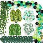 Green Ivy Palm Leaf ...