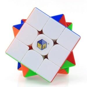 Image 1 - Magie Cube Yuxin Wenig Magie 3x3x3 Zauberwürfel Geschwindigkeit Magic Cube für Herausfordernde Geschenk Spielzeug Bunte