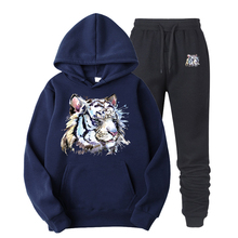 New Casual Realistic tiger HOODIE Hip Hop Street wear Sweatshirts Skateboard Men/Woman Pullover Hoodies Male Hoodie S-XXXL glenn berger new casual soild colors cotton hoodie hip hop street wear sweatshirts skateboard women pullover hoodies femme tops