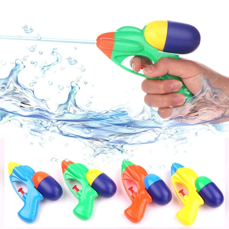New Blaster Water Gun Toy Kids Beach Squirt Toy Pistol Spray Summer Pool Outdoor Toy Kids Toy Party Favors Beach Gun Portable