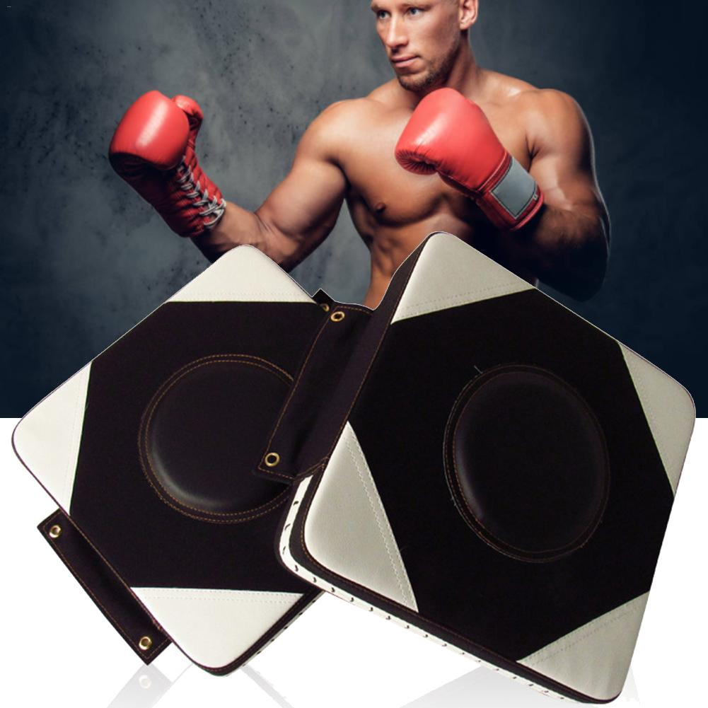 PU Wall Punch Boxing Bags Focus Target Pad Wing Chun Fight Sanda Taekowndo