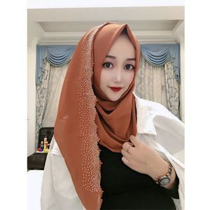 Image 5 - E2 10 pçs de alta qualidade corte a laser chiffon hijab xale cachecol feminino cachecol/cachecol senhora envoltório xale 180*75cm pode escolher cores