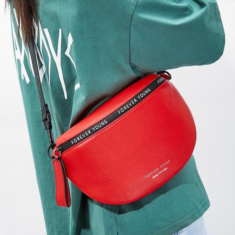 Женская сумка мессенджер из натуральной кожи, летняя маленькая сумка через плечо, 2019 Сумки с ручками      АлиЭкспресс