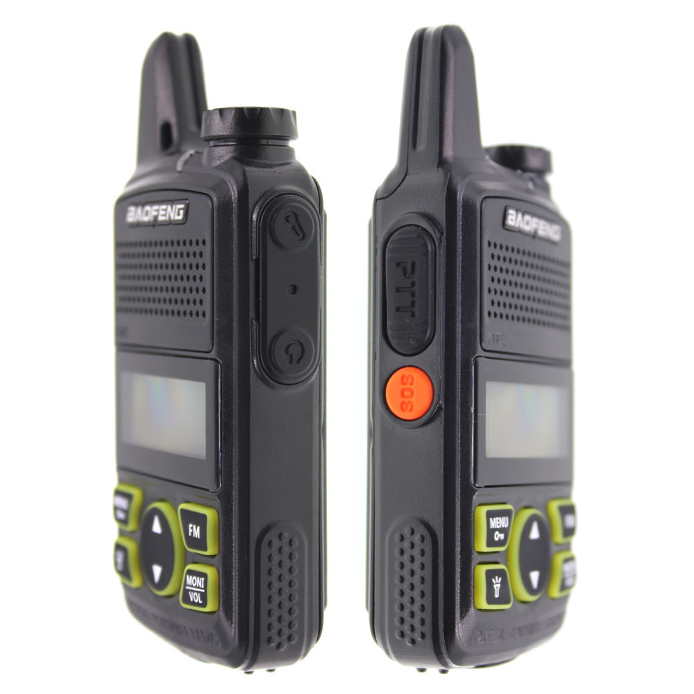 Image 4 - 2pcs/lot BAOFENG T1 MINI Two Way Radio BF T1 Walkie Talkie UHF 400 470mhz 20CH Portable Ham FM CB Radio Handheld Transceiver-in Walkie Talkie from Cellphones & Telecommunications