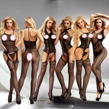 Lencería Sexy, disfraces de Porno sensual, lencería erótica, lencería de Mujer Transparente de talla grande, lencería erótica sexi para Mujer Qq345