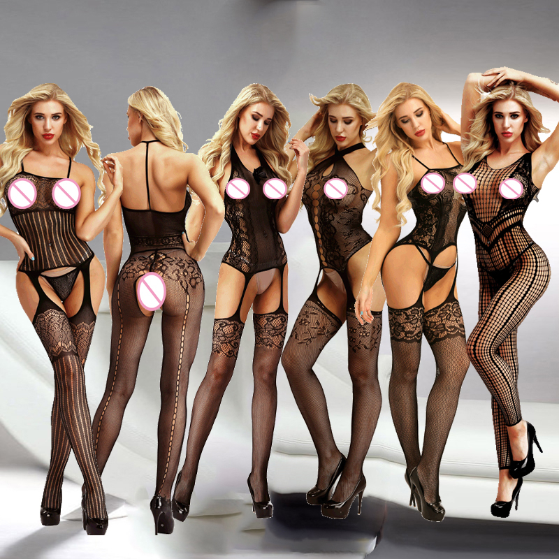 Sexy Lingerie Porno Sexy Costumes Erotic Langerie Lenceria Mujer Transparent Plus Size Women Sexy Hot Erotic Lingerie Qq345(China)