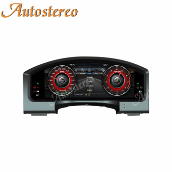 Meter Screen Android 9 Car Instrument Panel Replacement Entertainment System For Toyota Land Cruiser 2008-2019 Multimedia Player