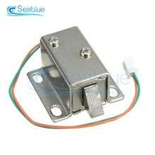 Contrôle d'accès de solénoïde de la porte 12V 0.35A 350mA de serrure électronique pour les serrures électriques de tiroir de porte d'armoire de commande