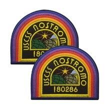 Rainbow Arch 180286 USCSS NOSTROMO Embroidered Patch Crew Uniform Shirt ALIEN AL
