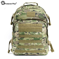 PROTECTOR PLUS 1000D Nylon Tactical Military Backpack 55L High Capacity Waterproof Camo Durable Rucksack Climbing Hunting Bag