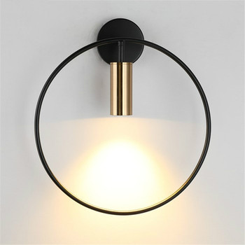 Nordic Minimalist Line Wall Lamp Living Room Creative Wall Light for Home Bedroom Bedside Corridor Indoor Decor Light Fixtures