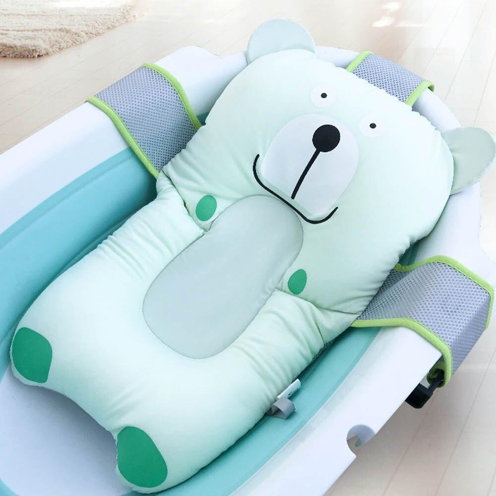 almofada do assento da banheira do bebe almofada de flutuacao do banho do bebe almofada da