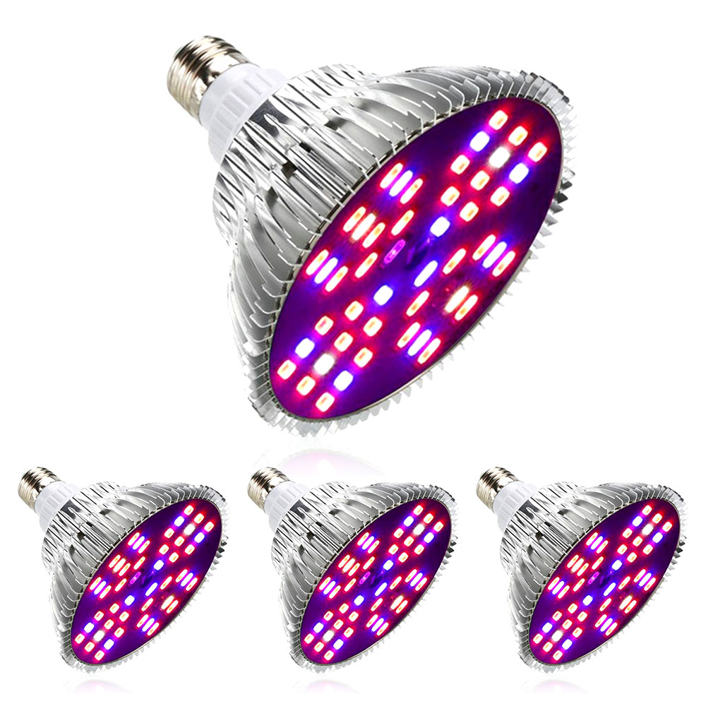 LED Grow Light Fitolamp Full Spectrum Indoor Plant Lights Phytolamp Led Lamp For Plants Flowers Grow Tent Hydroponics E27