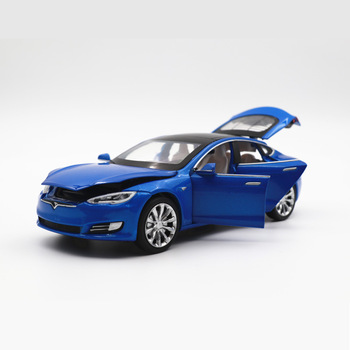 2020 New 1:32 Tesla MODEL S P100D 100D Alloy Car Model Diecasts Toy Vehicles Toy Cars Kid Toys For Children Gifts Boy Toy image