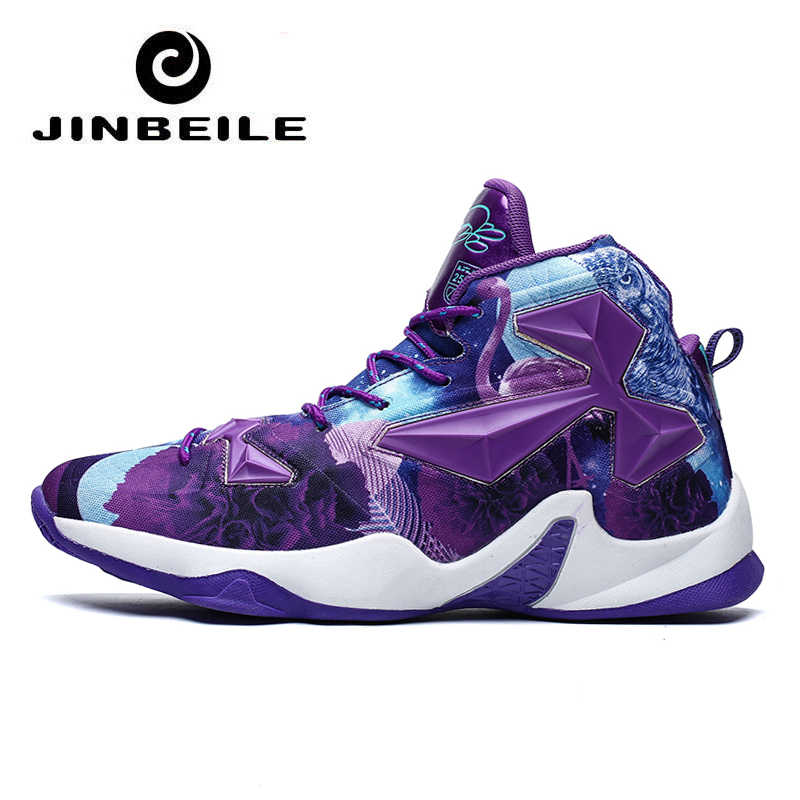 High Top Basketball Shoes Men Lebron 16