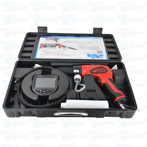"""Image 5 - 3.5"""" HD Display Cleaning Gun Borescope Portable Waterproof 6 Adjustable LED Light With 4 Holes Atomization Sprayer Borescope"""