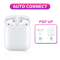 True Bluetooth Earphone V5.0 Wireless Touch Sport Earbuds Auto pop up Window With Dual Mic Handsfree Headset For iPhone Android