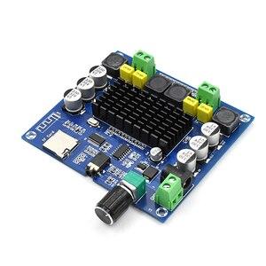 Image 2 - Bluetooth 5.0 100W+100W TPA3116 Digital Audio Power Amp HiFi Sound Dual Channel Class D Stereo Aux TF Card Amplifier Board