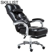 Sillones Bilgisayar Sandalyesi Oficina Sessel Gamer Sillon Bureau Ergonomic Leather Cadeira Poltrona Silla Gaming Office Chair