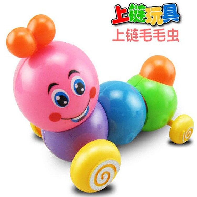 Children'S Educational Winding Caterpillar Spring Telescopic Worm Walk Twister Butt Educational Stall Toy