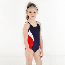 Слитный купальник для девочек 3 9 лет настраиваемый логотип