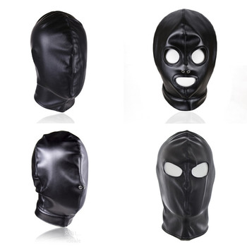 BDSM Slave Bondage Latex Mask Puppy Hood Fetish Gay Toys Leather Restraints Headgear Sex Tools for Women Men Erotic Sex Shop