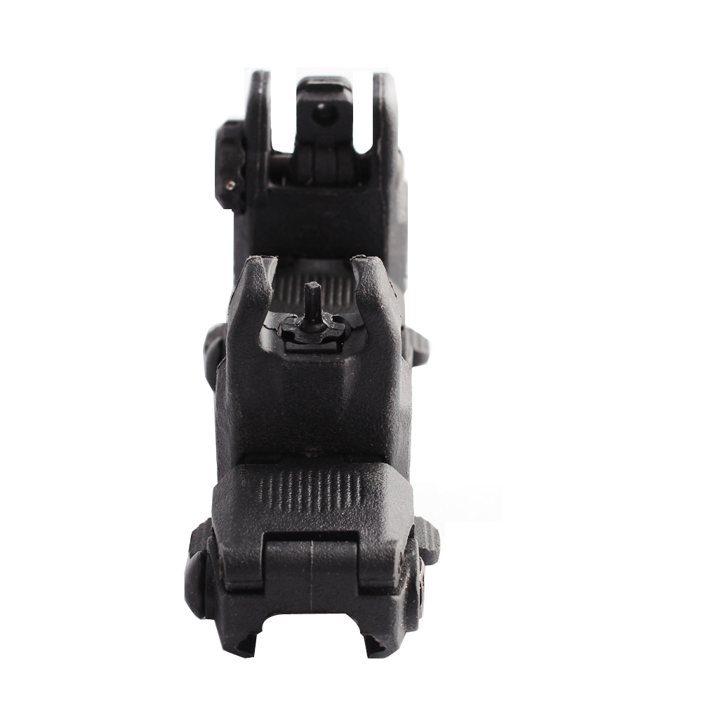 Magorui MBUS Gen 3 Backup Sights Front & Rear Set w/ Front Sight Tool with the Mark