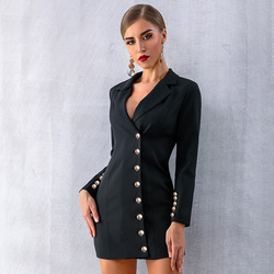 Quality Fashion Leisure Blazers Women Jacket Spring New Autumn British Style Section Disassembly Brooch Occupation 2020 Button