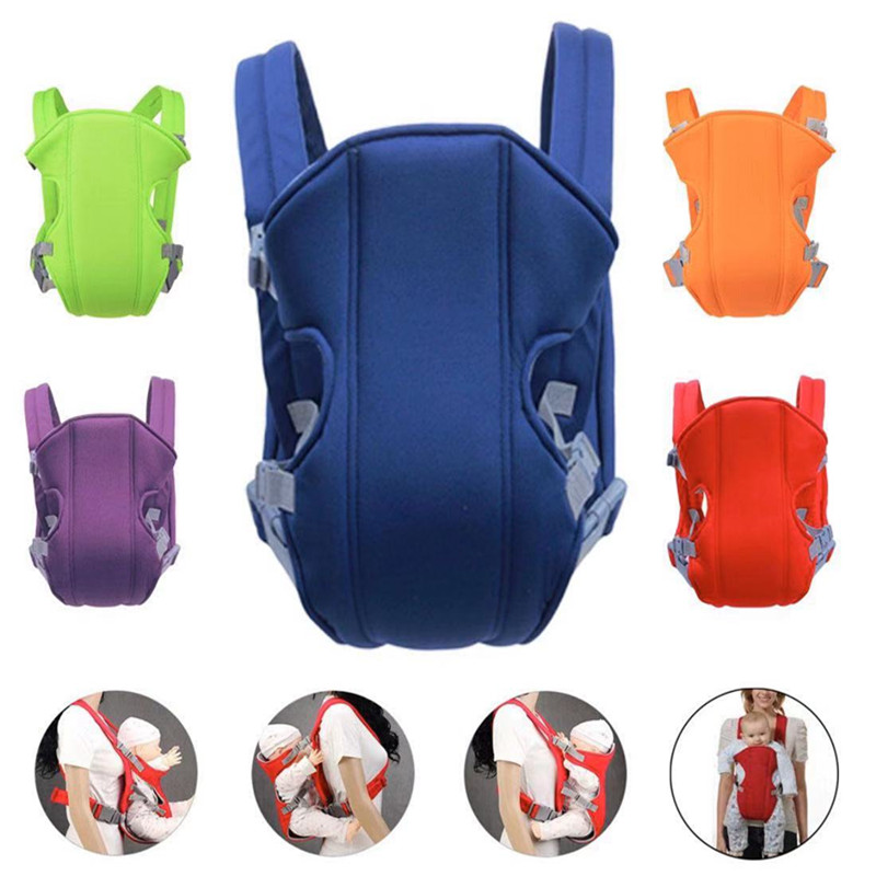 Infant Baby Adjustable Breathable Carrier Comfort Backpack Strap Buckle Sling Seat Bag 3-16m