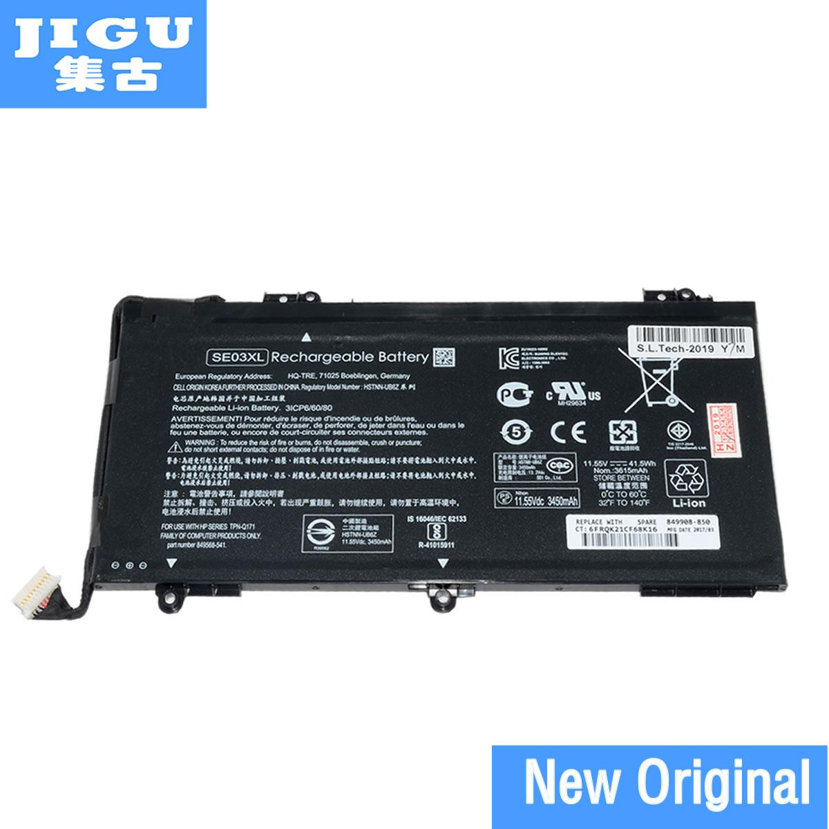 JIGU HSTNN-LB7G SE03041XL SE03XL Original New Laptop Battery For HP E8Q01EA For Pavilion 14-al000 Y8J60PA Y8J73PA 11.55V 41.5WH