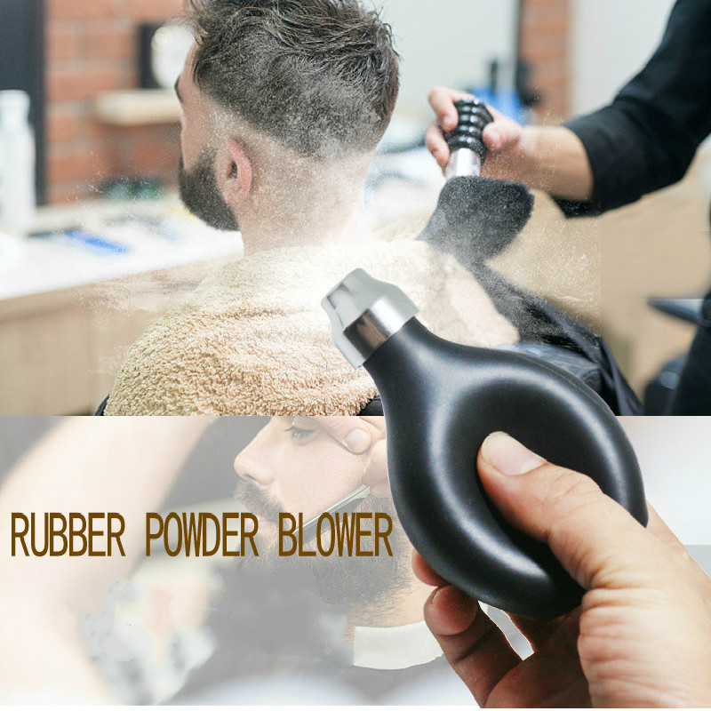 Barber Smash Hair Cleaner Soft Rubber Bottle Neck Duster Hair Remover Hairdressing Hair Cutting Spray Bottle Salon Stylist Tool