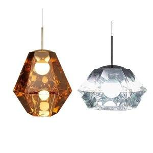 Moderna sala de estar/quarto/minimalista/restaurante luz pingente nordic vestuário decoração bola vidro pingente lâmpada Luzes de pendentes     -